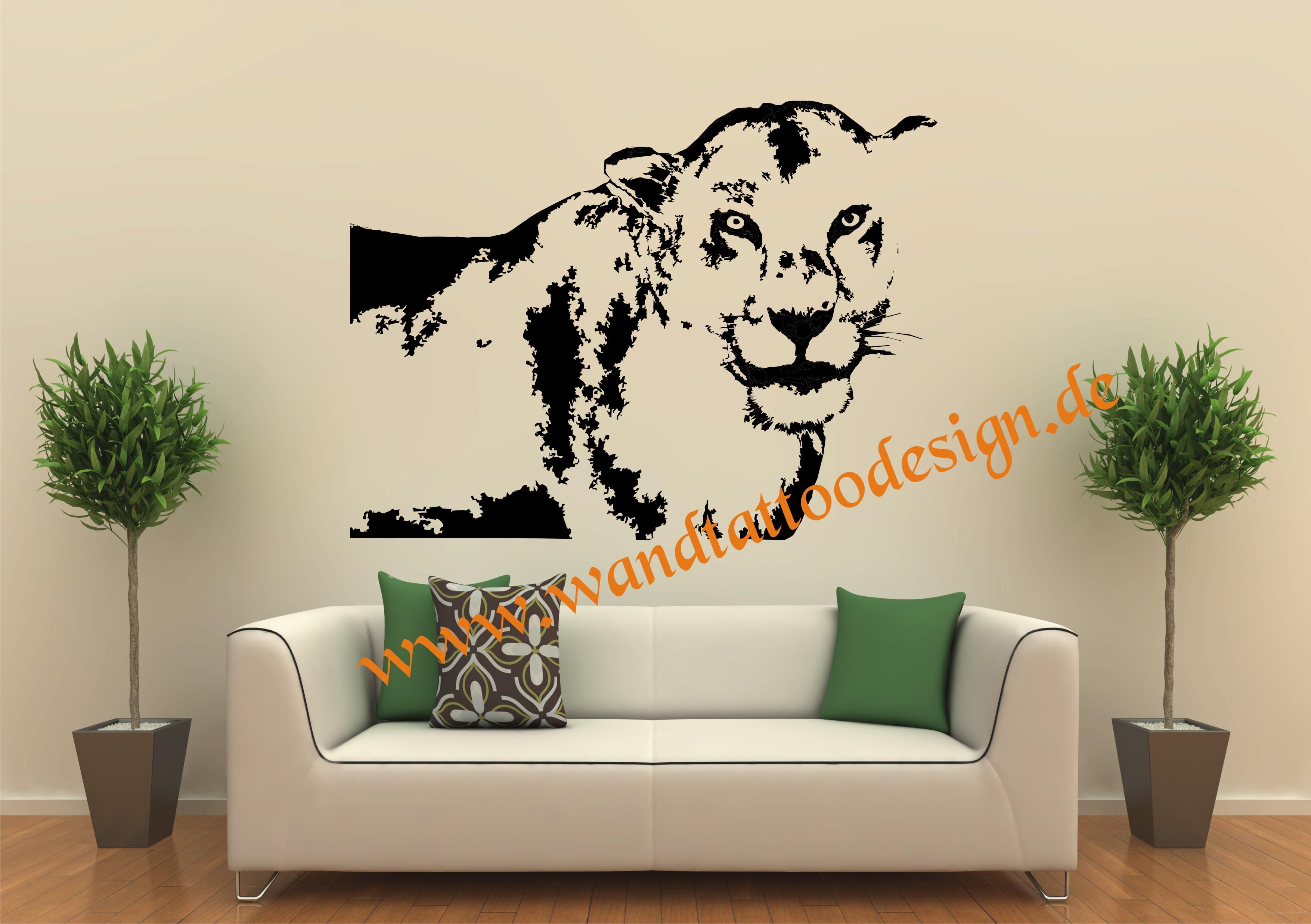 wandtattoo l win l we afrika safari. Black Bedroom Furniture Sets. Home Design Ideas